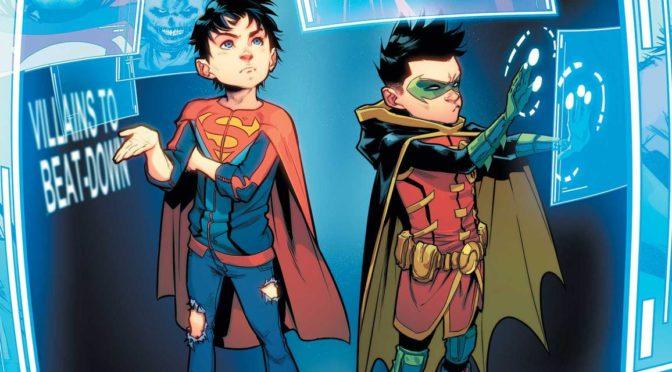 Anunciado el regreso de los Super Sons con una maxiserie de 12 números