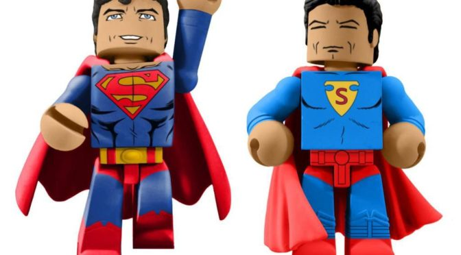 Diamond Select Toys anuncia estas figuras de Superman por el 80 aniversario