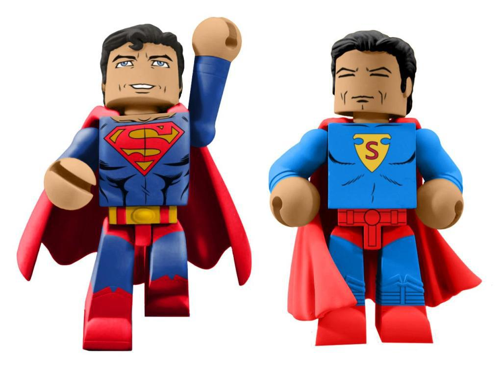 SDCC 2018 DC COMICS 80TH ANN SUPERMAN VINIMATE - Diamond Select Toys anuncia estas figuras de Superman por el 80 aniversario