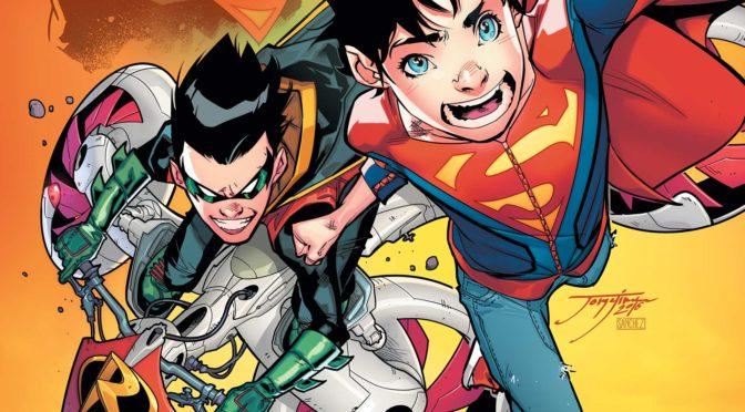[SPOILERS] Dos nuevos miembros de la familia de Superman y Batman se unen en Super Sons #16