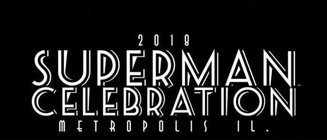 Diseño oficial para la celebración de Superman 2018