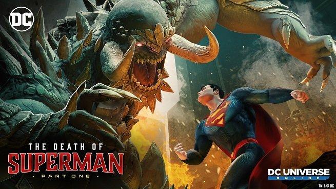 DC Universe Online anuncia el evento basado en 'La Muerte de Superman'