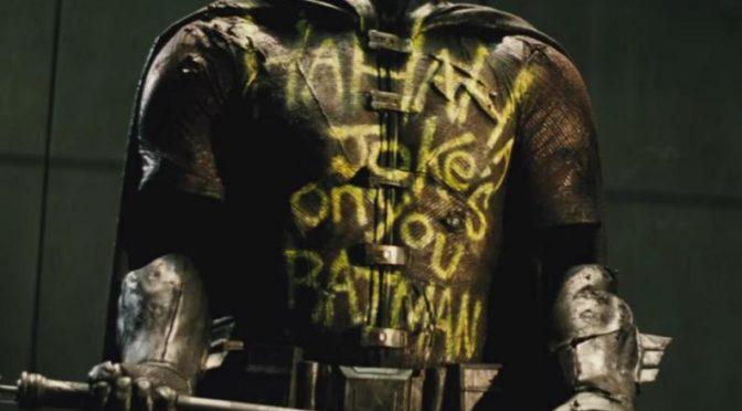 Nuevo vistazo al traje de Robin en 'Batman V Superman'