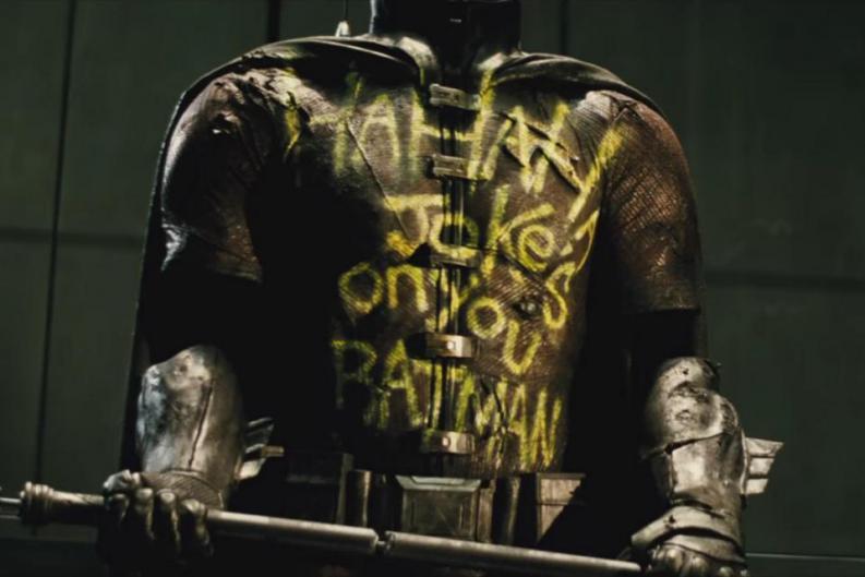 Robin Batman V Superman