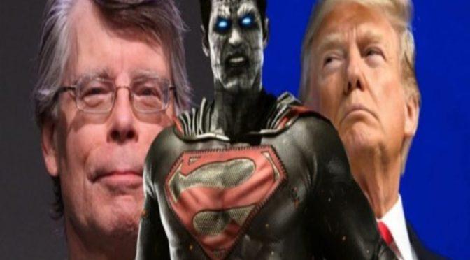 Stephen King afirma que Donald Trump viene del mundo Bizarro