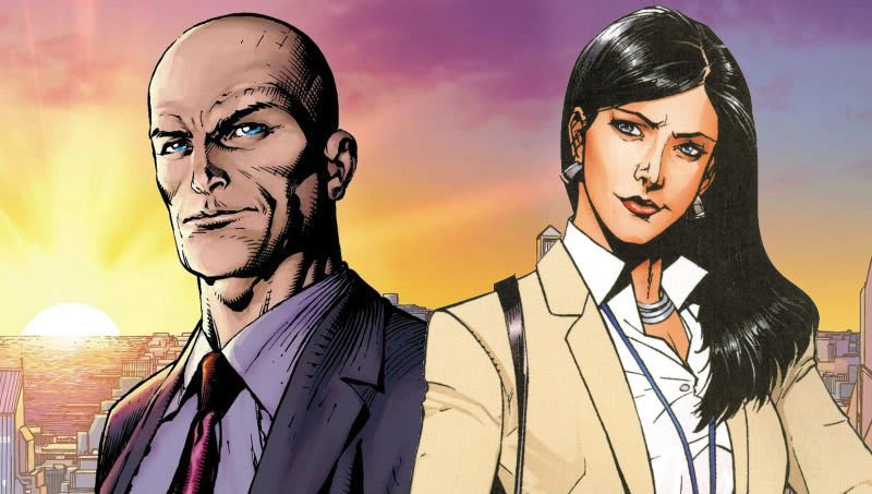 """tmkzp4xs1e18cmafwdht - Lois Lane y Lex Luthor pillados juntos en """"Action Comics #1004"""""""