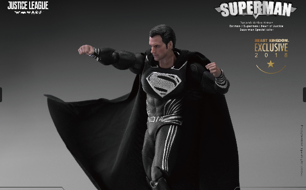 Beast Kingdom presenta dos figuras de acción de Superman exclusivas de la SDCC 2018