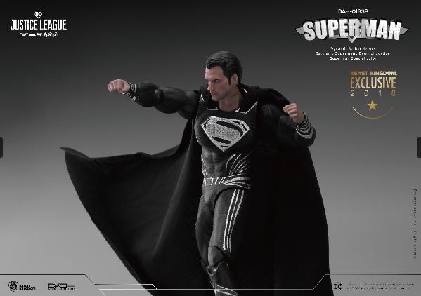 10 - Beast Kingdom presenta dos figuras de acción de Superman exclusivas de la SDCC 2018