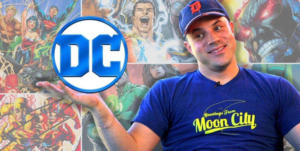 Areajugones Geoff Johns DC Entertainment - Geoff Johns abandona su puesto como Presidente de DC Films y como Director creativo de WB por un contrato en exclusiva de escritor