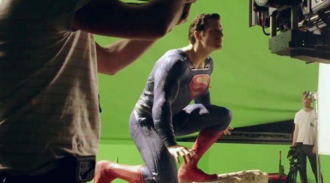 Fotos de Superman entre bastidores de la 'Liga de la Justicia'