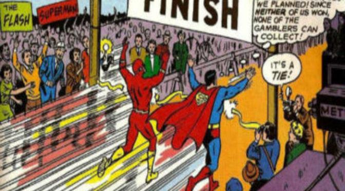 Un gran enigma de DC desvelado: ¿Quién es más rápido, Flash o Superman?