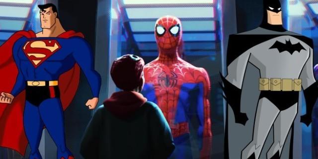 spider man batman superman 1114253 640x320 - ¿Hay un huevo de Pascua de Superman y Batman escondido en el tráiler de 'Spider-Man: Into the Spider-Verse'?