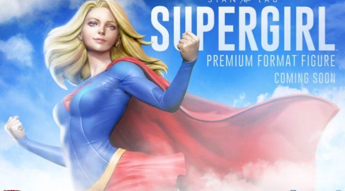 Primer vistazo a la figura de Supergirl Premium Format de Sideshow Collectibles