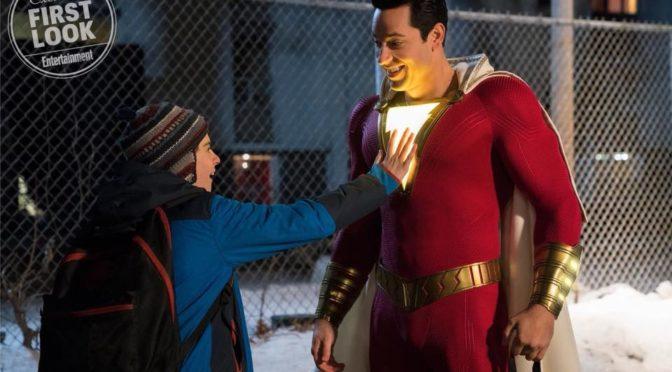 Dos nueva imágenes de 'Shazam!' con claras referencias a Superman