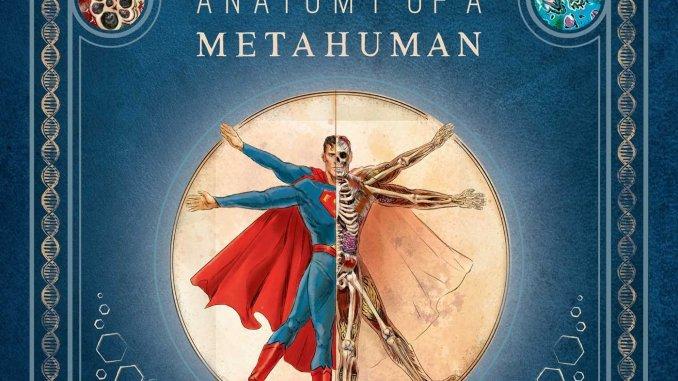 Anatomy Metahuman Cvr - Nuevo libro - 'DC Comics: Anatomía de un Metahumano'