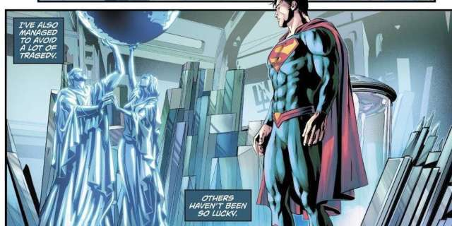 'The Man of Steel' #6 revela lo que ocurrió al traje de Superman de Rebirth