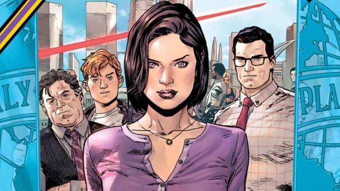 Lois Lane in Action Comics - Primer vistazo a Lois Lane de Elizabeth Tulloch en esta nueva foto del crossover