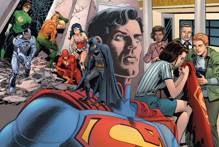 aHR0cDovL3d3dy5uZXdzYXJhbWEuY29tL2ltYWdlcy9pLzAwMC8yMzMvOTM4L2kwMi9ET1NNX0NIMDFfU0ZDb3Zlci5qcGc 1 - Louise Simonson vuelve para la precuela de 'La Muerte de Superman' que se publica hoy