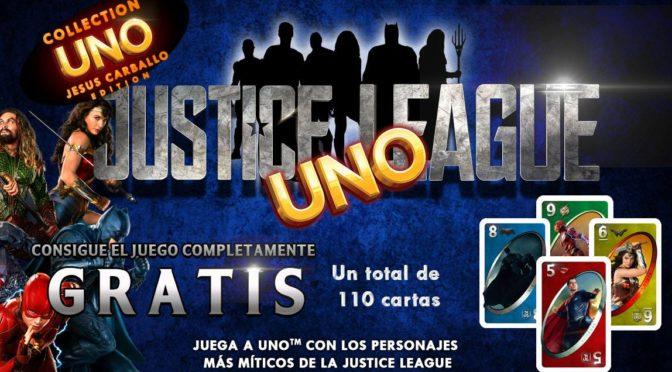 Edición especial del juego de cartas UNO de la 'Liga de la Justicia'