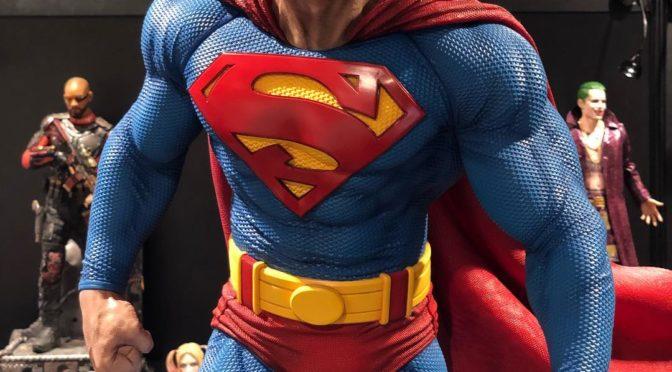 Primer vistazo a las figuras de Superman, Superman Cyborg, Supergirl y Zod de Prime 1 Studio