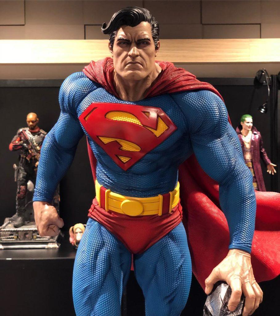 42301366 1955825387797427 7688304455581696000 o - Primer vistazo a las figuras de Superman, Superman Cyborg, Supergirl y Zod de Prime 1 Studio