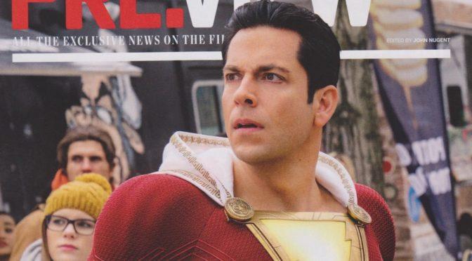 Nuevos vistazos a 'Aquaman' y 'Shazam' en la revista Empire y más…