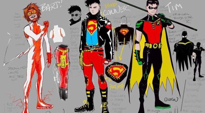 Detalles adicionales sobre los cómics 'Young Justice' y 'Wonder Twins'