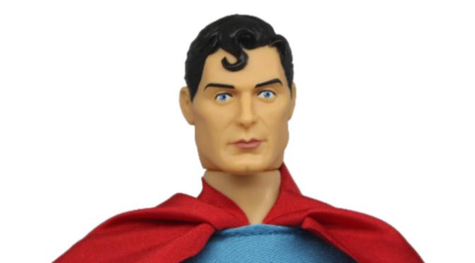 Figuras de Superman y Zod de Mego