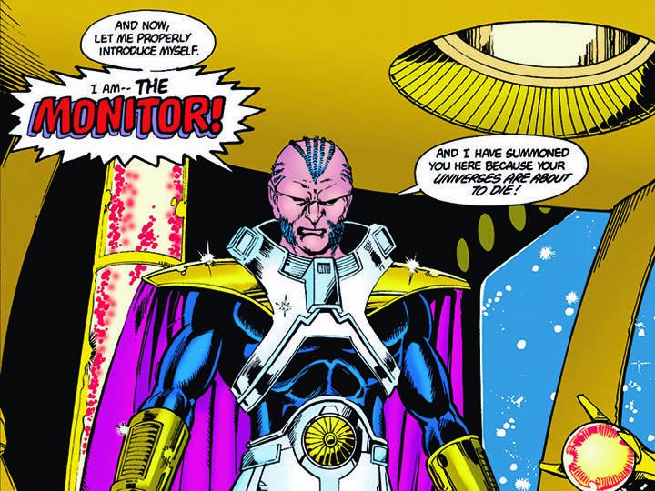 "The Monitor Crisis on Infinite Earths - Primera imagen oficial de El Monitor del crossover ""Elseworlds"""