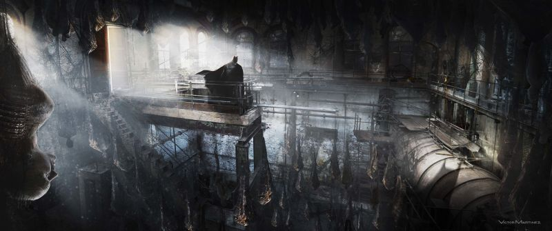 """rawJL ENV 000 VentilationTowerNest Int V4 Concept01 VM 151029 - Zack Snyder revela que la escena de Batman/parademonio fue """"considerada demasiado aterradora"""""""