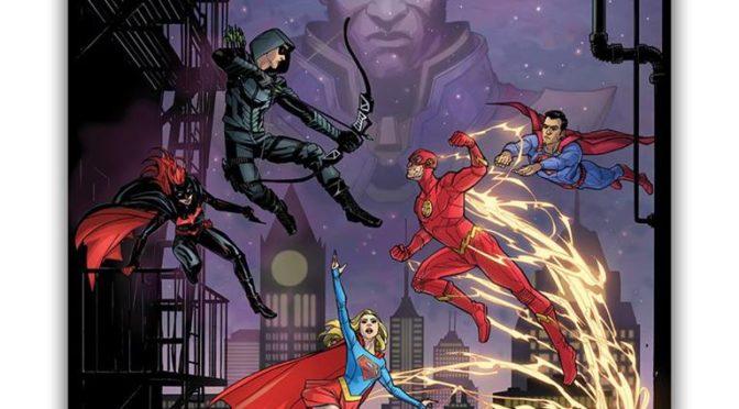 "Primer póster promocional del crossover ""Else Worlds"" de The CW"