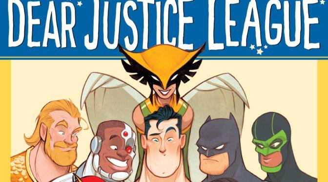Revelada la portada de 'Dear Justice League' de Michael Northrop y Gustavo Duarte