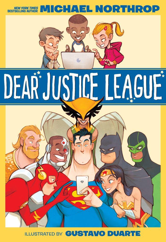 DearJusticeLeague book - Revelada la portada de 'Dear Justice League' de Michael Northrop y Gustavo Duarte