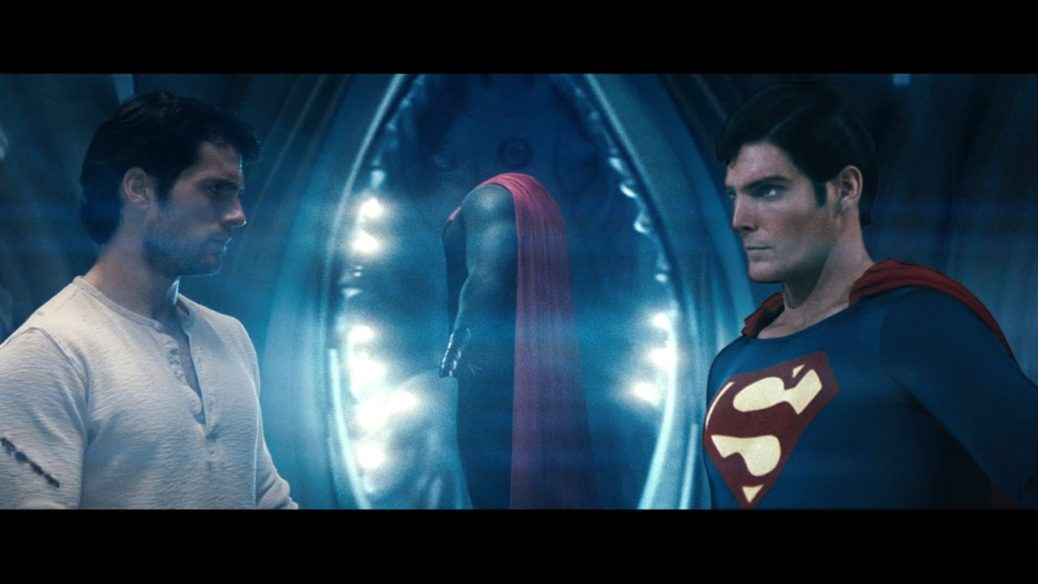 Henry Cavill y Christopher Reeve - Fan fusiona a Christopher Reeve y Henry Cavill para crear Ultimate Superman