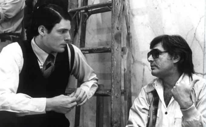 Richard Donner y Christopher Reeve