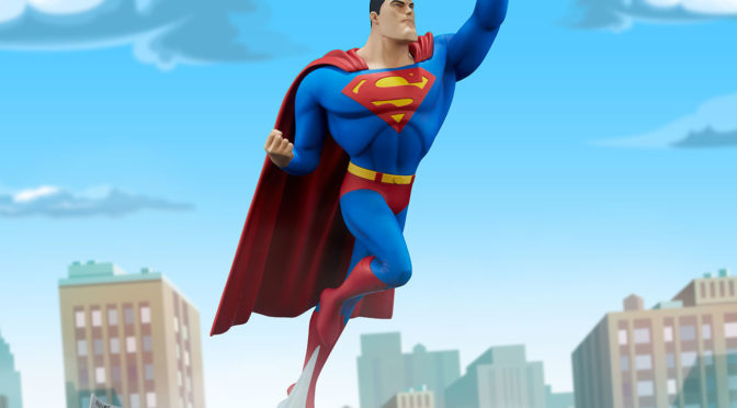 Disponible la figura de 'Superman: la serie animada' de Sideshow