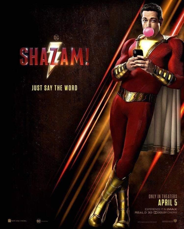 """47146020 188895272062420 2530268631116283904 n - Nuevo clip promocional de """"Shazam!"""" y primera imagen de Harley Quinn en """"Birds of prey"""""""