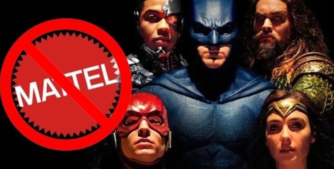 Mattel pierde los derechos de licencia de algunos juguetes de DC Comics