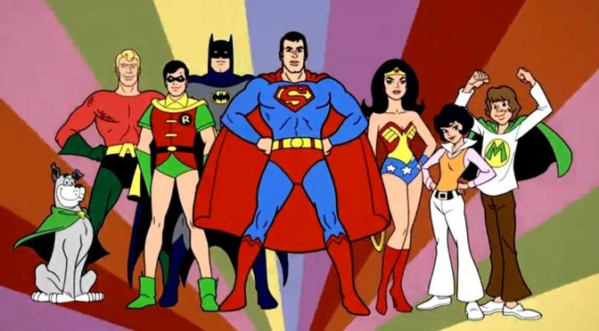 Subasta de bocetos de Superman de la serie animada 'Super Friend'