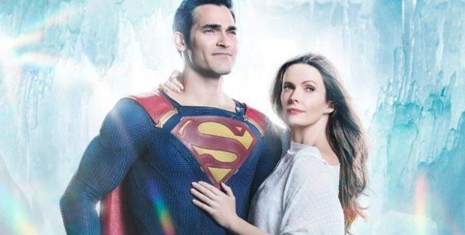 Superman y Lois Lane en la Fortaleza de la Soledad