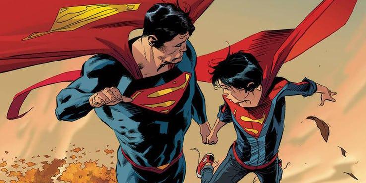 superman clark kent superboy jon kent - 10 cosas que los fans de Superman deberían saber sobre su hijo, Jonathan Kent