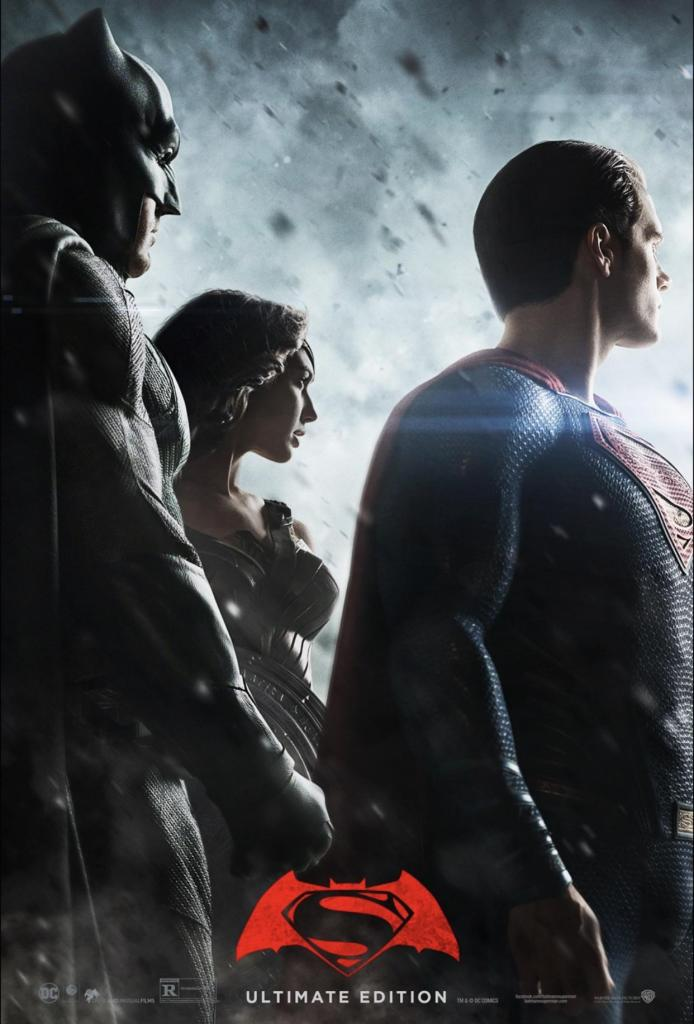 Batman V Superman Ultimate Edition Poster - Zack Snyder publica el póster edición definitiva de 'Batman v Superman: El Amanecer de la Justicia