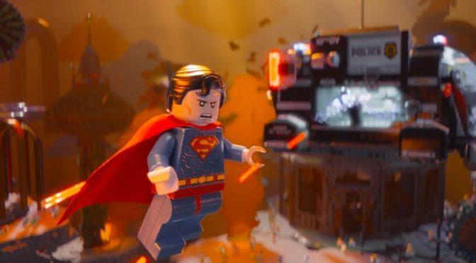 Anuncio de 'La LEGO Película 2' con la Liga de la Justicia