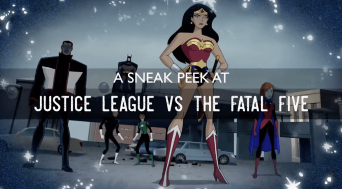 Anunciada la fecha de 'Justice League vs. The Fatal Five'