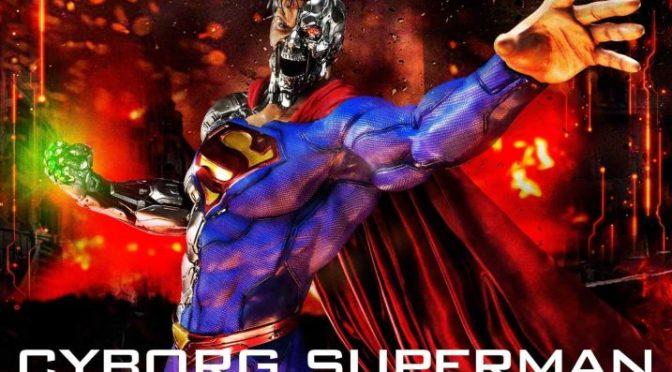 Figura de Cyborg Superman de Prime 1 Studio