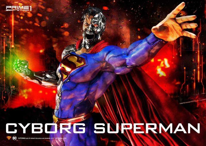Prime 1 Studio Superman Cyborg Superman 10 - Figura de Cyborg Superman de Prime 1 Studio