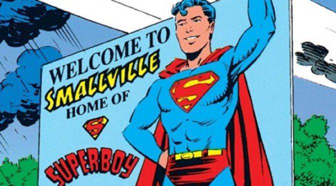 ¿Cuándo se ubicó Smallville en Kansas en los Comics?