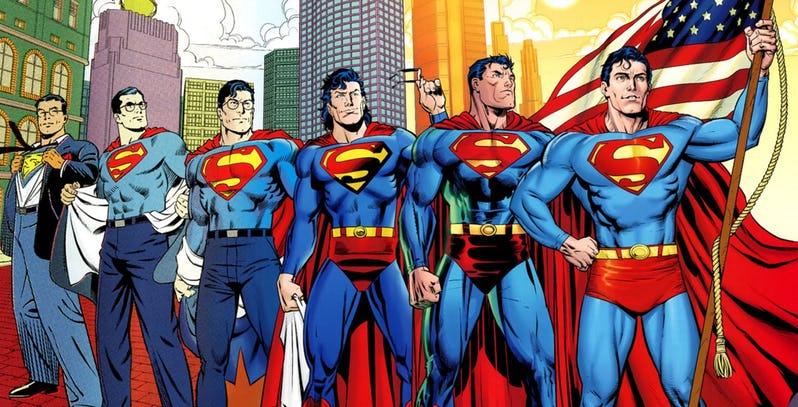 Cambios Superman