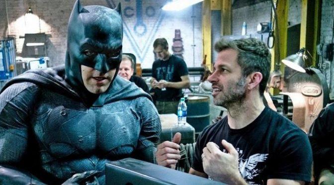 Zack Snyder se despide del Batman de Ben Affeck