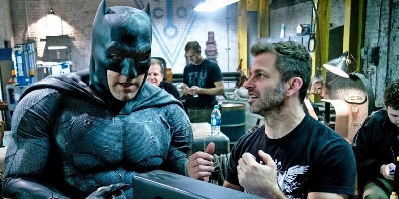 Snyder Affleck - Zack Snyder se despide del Batman de Ben Affeck